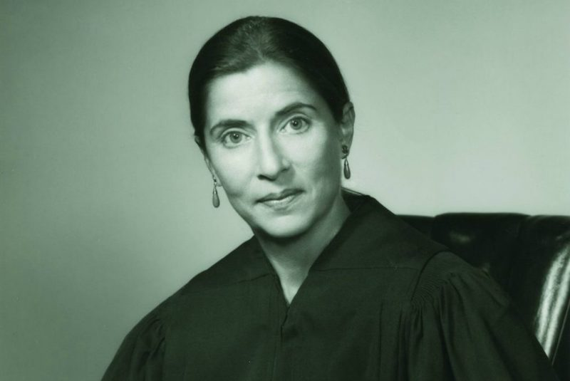 Ruth Bader Ginsberg. Photo from the collection of the Supreme Court of the United States