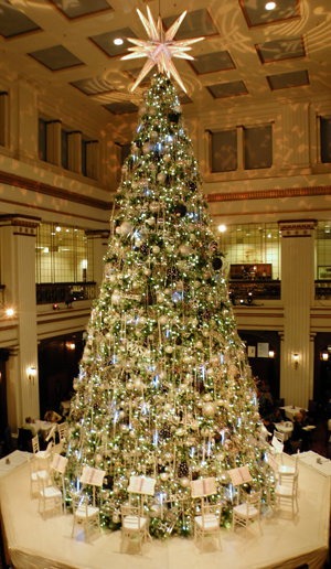 The big treat was breakfast Under the Tree at Marshall Field's
