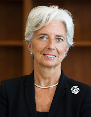 Christine Lagarde, Managing Director, International Monetary Fund (official portrait 2011)