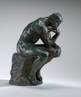 Thinker. Sculpture by Auguste Rodin