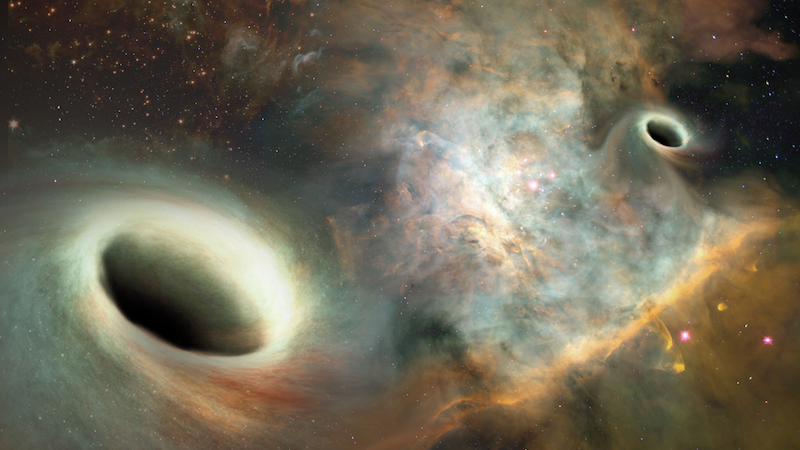 For the first time ever, astronomers at The University of New Mexico say they've been able to observe and measure the orbital motion between two supermassive black holes hundreds of millions of light years from Earth -- a discovery more than a decade in the making.