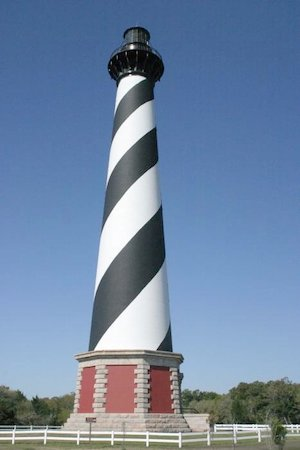 Cape Hatteras lighthouse. By Henryhartley, CC BY-SA 3.0
