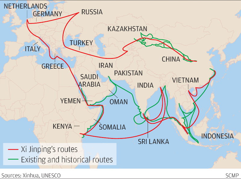 'One Belt, One Road,' a planned modern Silk Road with China at its heart