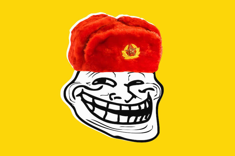 Image result for russian troll