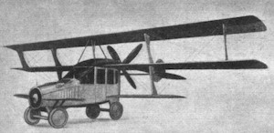 1917 Curtiss Autoplane