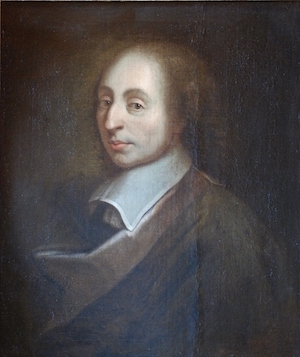 Blaise Pascal, Palace of Versailles. Artist unknown, unknown; a copy of the painting of François II Quesnel, which was made for Gérard Edelinck en 1691, CC BY 3.0 <https://creativecommons.org/licenses/by/3.0>, via Wikimedia Commons
